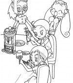 coloriage magical doremi 009